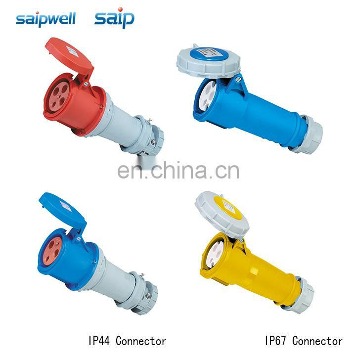 Saip Group CEE/ IEC International Standard electrical connectors 3 poles / 32A / 110VAC type