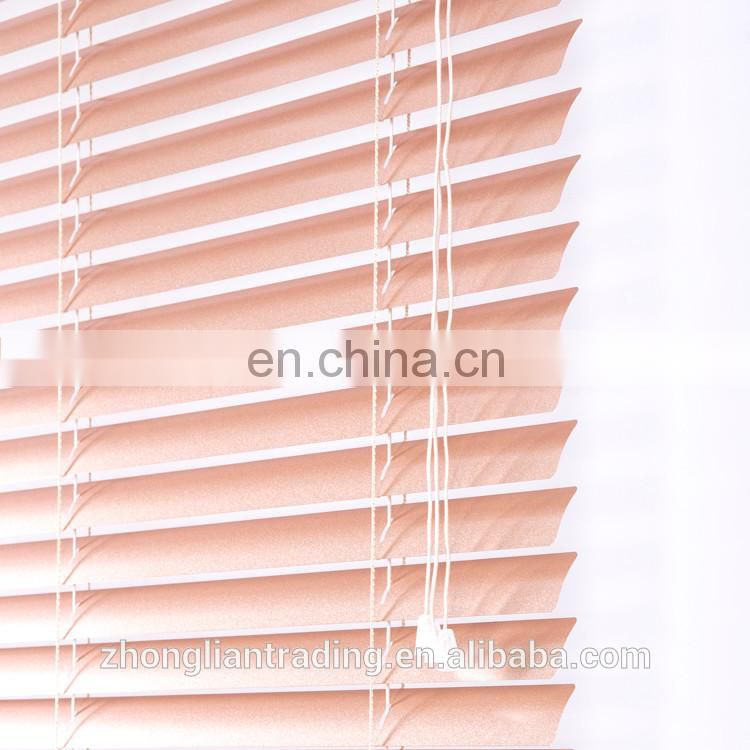 Best price Japanese lace pleated mechanical one way window blinds for living room