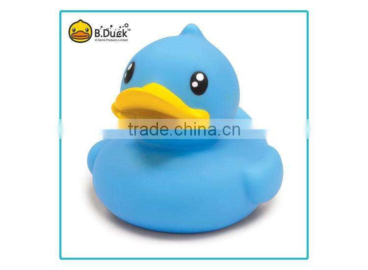 Plastic floating duck rubber duck bubble bath toy
