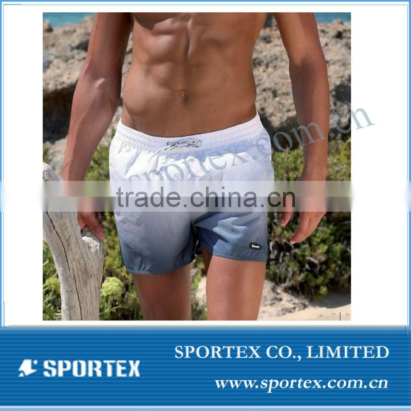 mens athletics shorts with custome logo, polyster sport shorts for gym or swimming