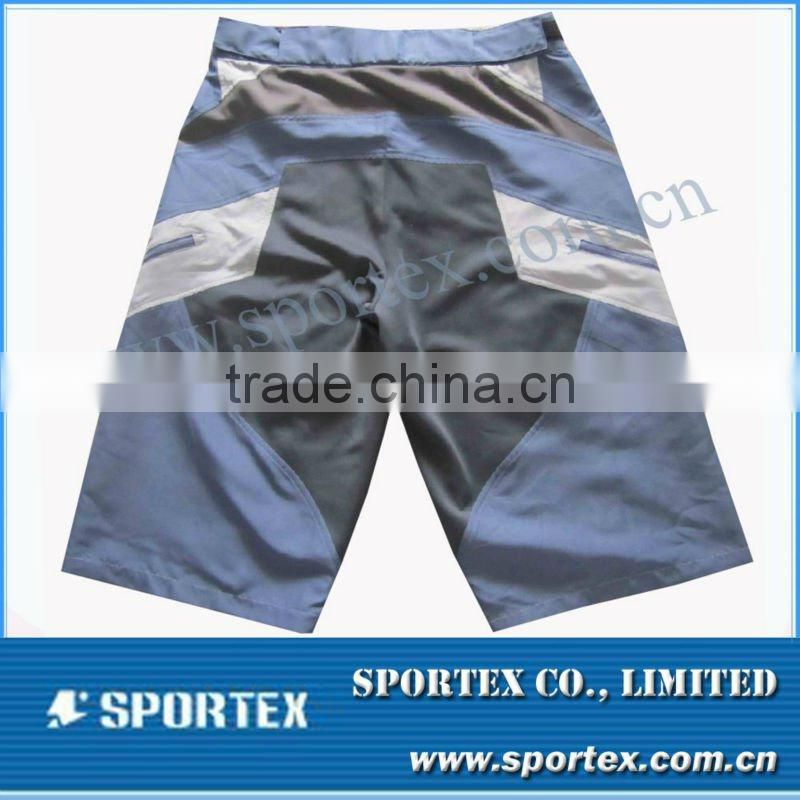 New style mens shy short with detachable inner short