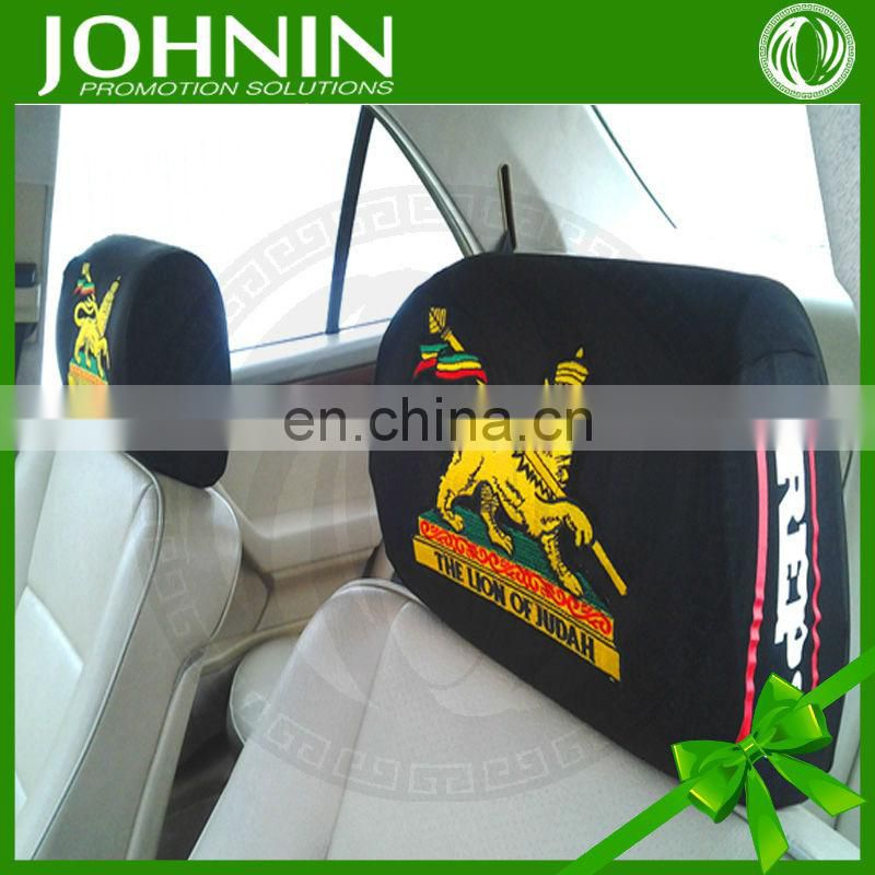 100% Polyester Heat Transfer printing Soft Comfortable Headrest cover