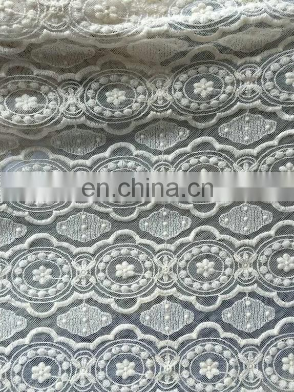 fashion chemical nylon mesh lace fabric used on garment