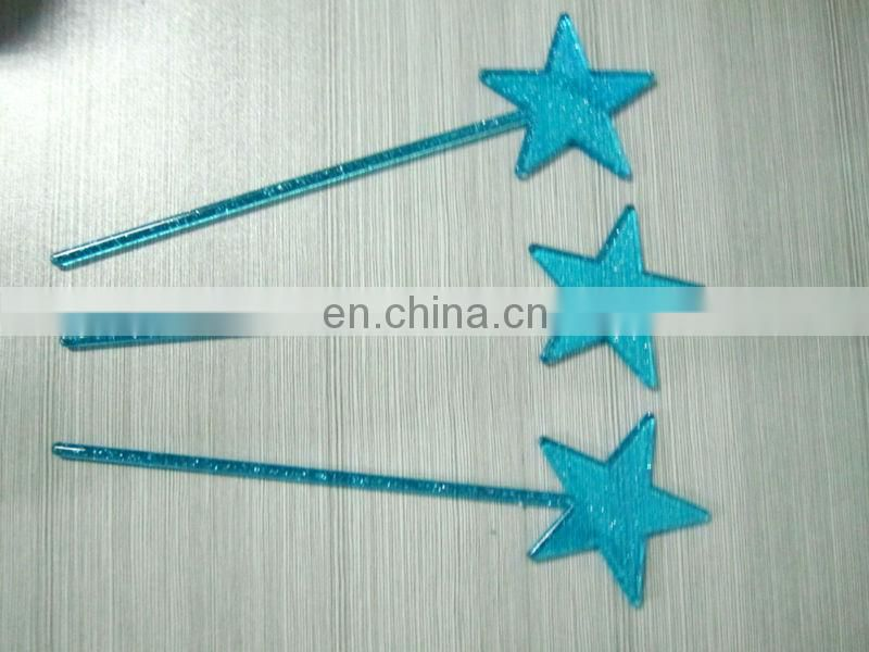 Star shaped Plastic cocktail pick