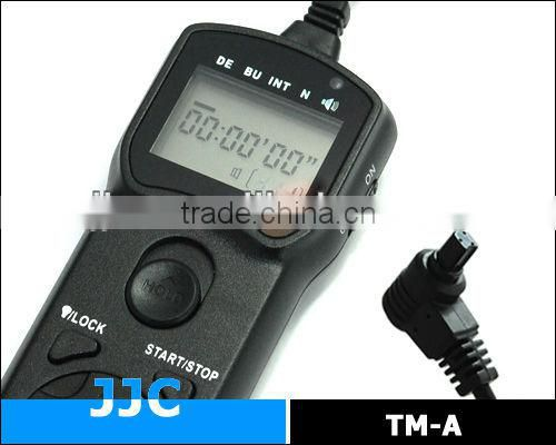 JJC Camera telecommande TM-A replaces TC-80N3 for Canon EOS 5D etc