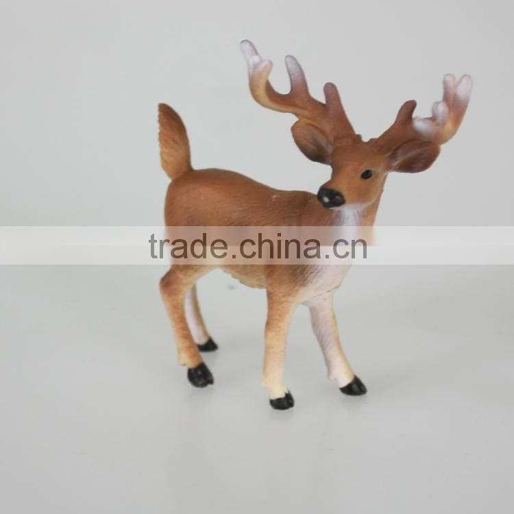 New design animal series small plastic toy deer