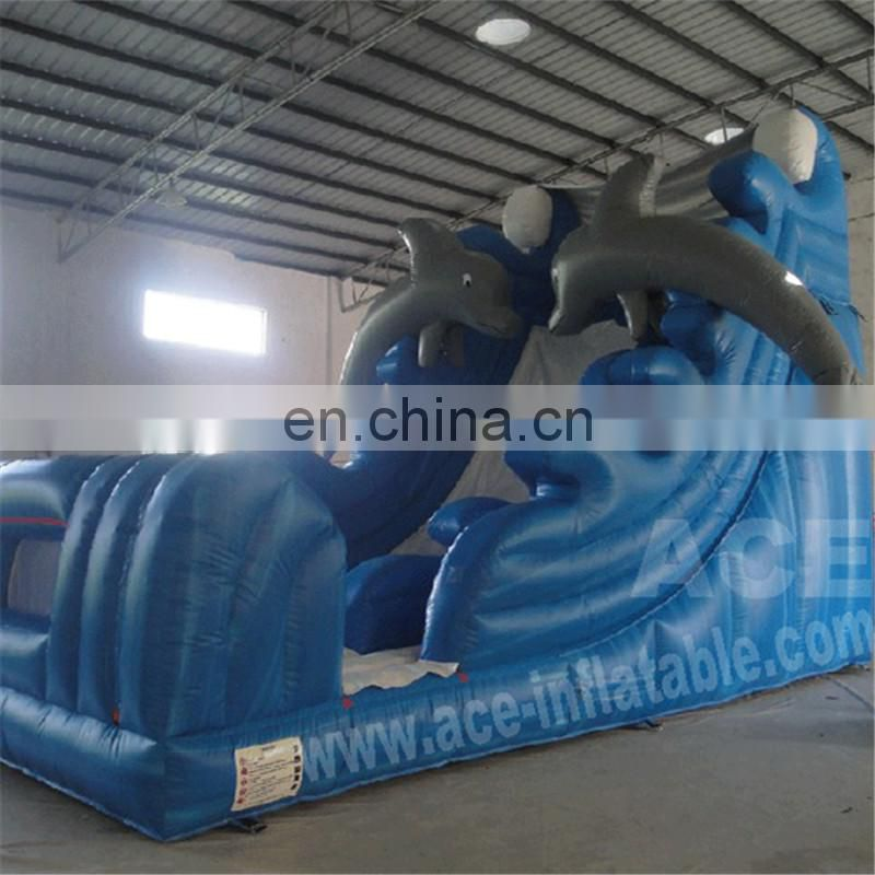 Professional supplier inflatable park water park giant, 30ft inflatable water slides,commercial slip n slide