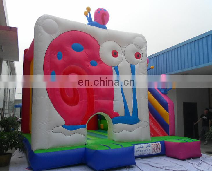 Inflatable bouncer slide combo/inflatable bounce animal house/inflatable bouncer with slide for kids