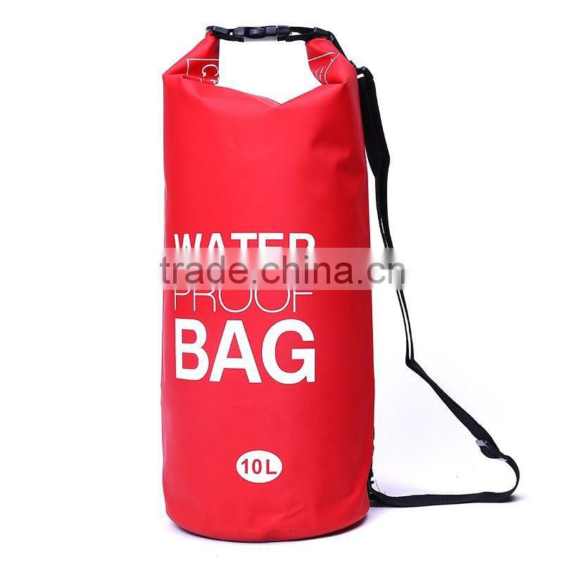 Swimming rafting caving cylinder waterproof dry bag for outdoor sports
