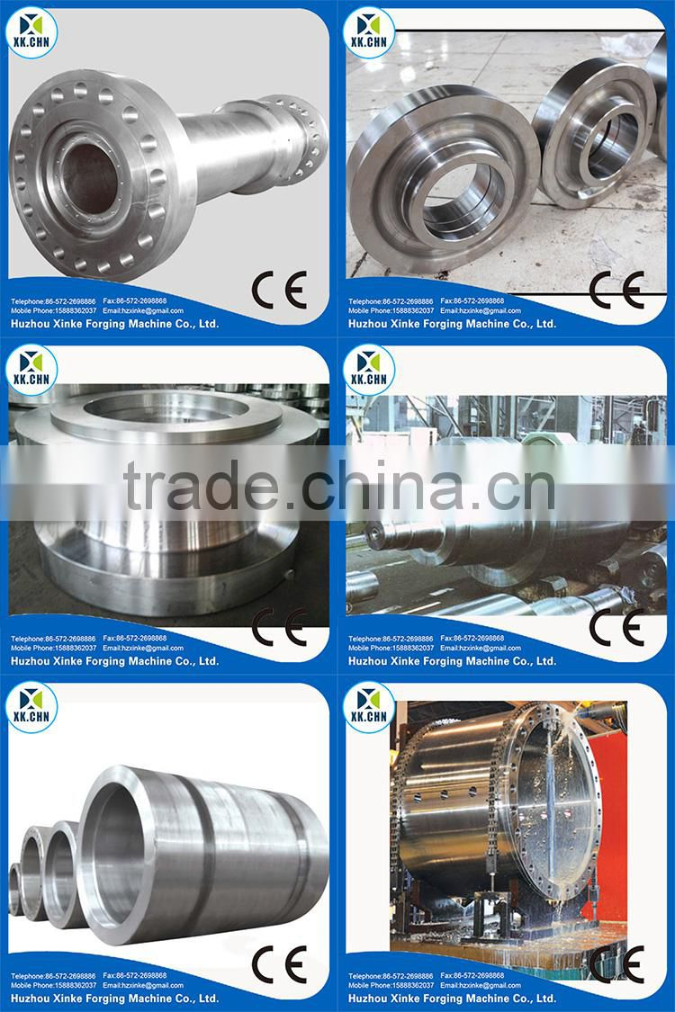 Professional Designer Manufacturing Heavy Parts forged piece large stainless steel flange