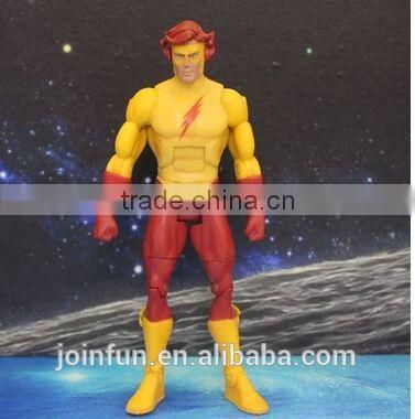 custom made action figure,movable action figure,the flash PVC action figure