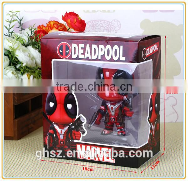Collectible deadpool movie character deadpool models supplier