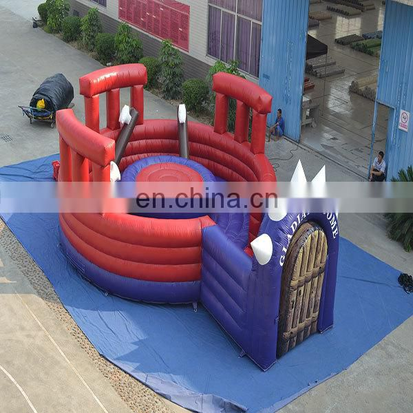 2015 Guangzhou AOQI top quality cheap price interesting inflatable Rodeo for kids