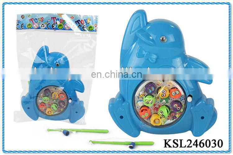 magnetic plastic wind up fishing for kids