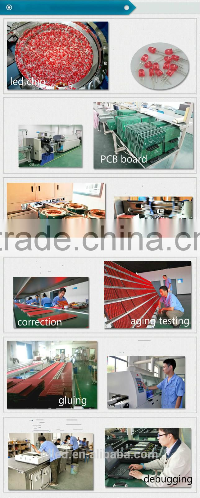 full color indoor p7.62 ali led display sexy vedio hanging led display for indoor stadium