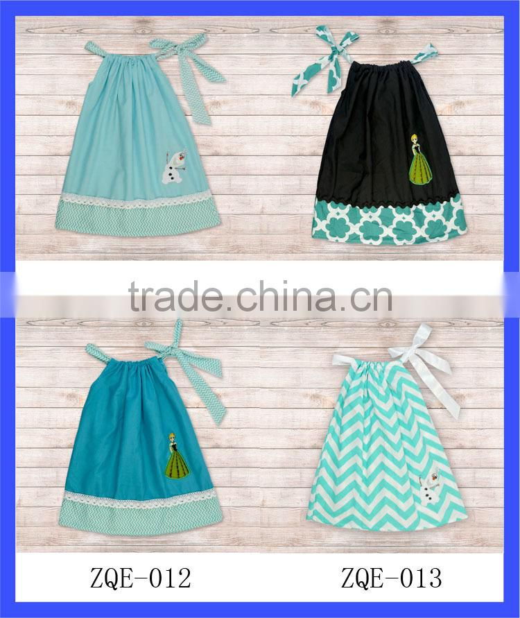 2014 new design baby boutique clothing children fancy bubble A-line princess dress for kids