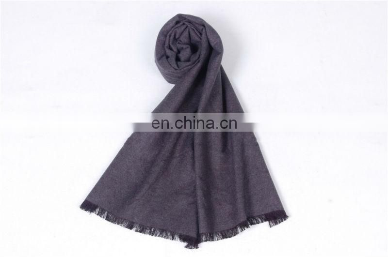 Fashion Solid Color Winter Cashmere Scarf