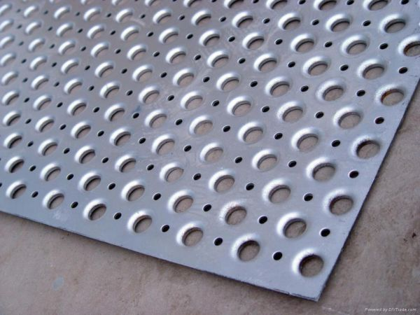 Perforated Metal Sheet Mesh Grill Sheet Image