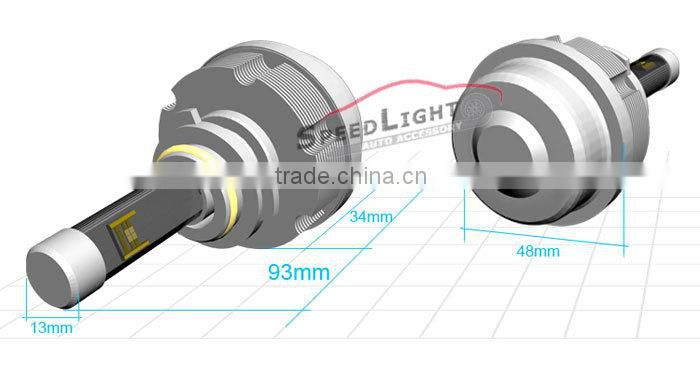 Speedlight High Power 30W 3600LM 2S 9005 Auto LED Headlight