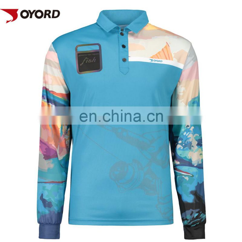 Fashion team fishing jersey