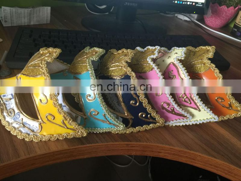 wholesale fashion handmade half face Venice masquerade mask