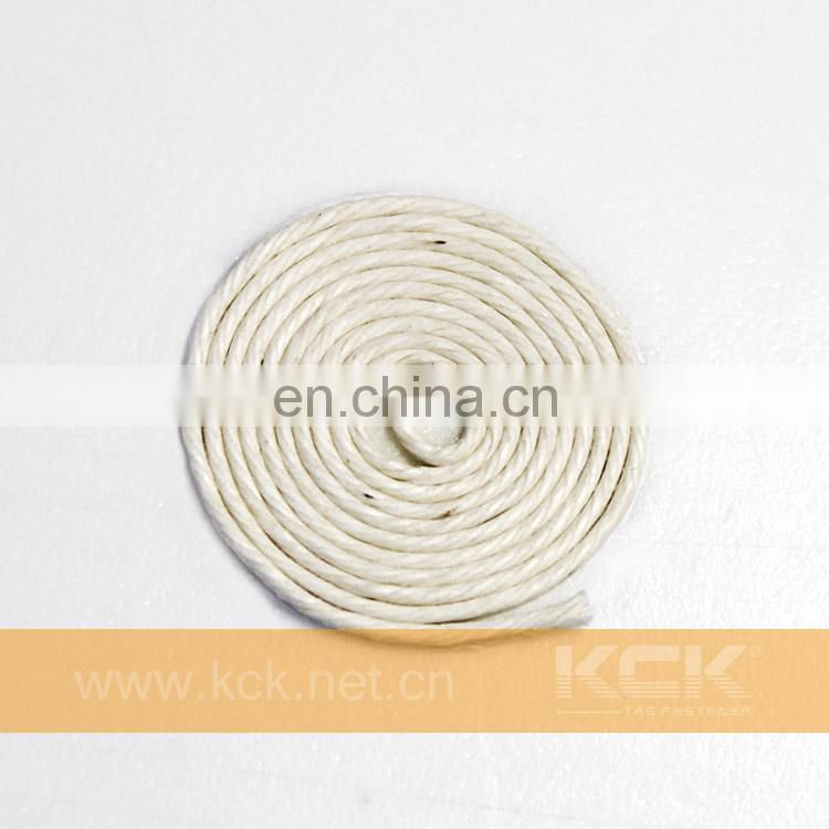Cotton Rope String , waxed ,Beige