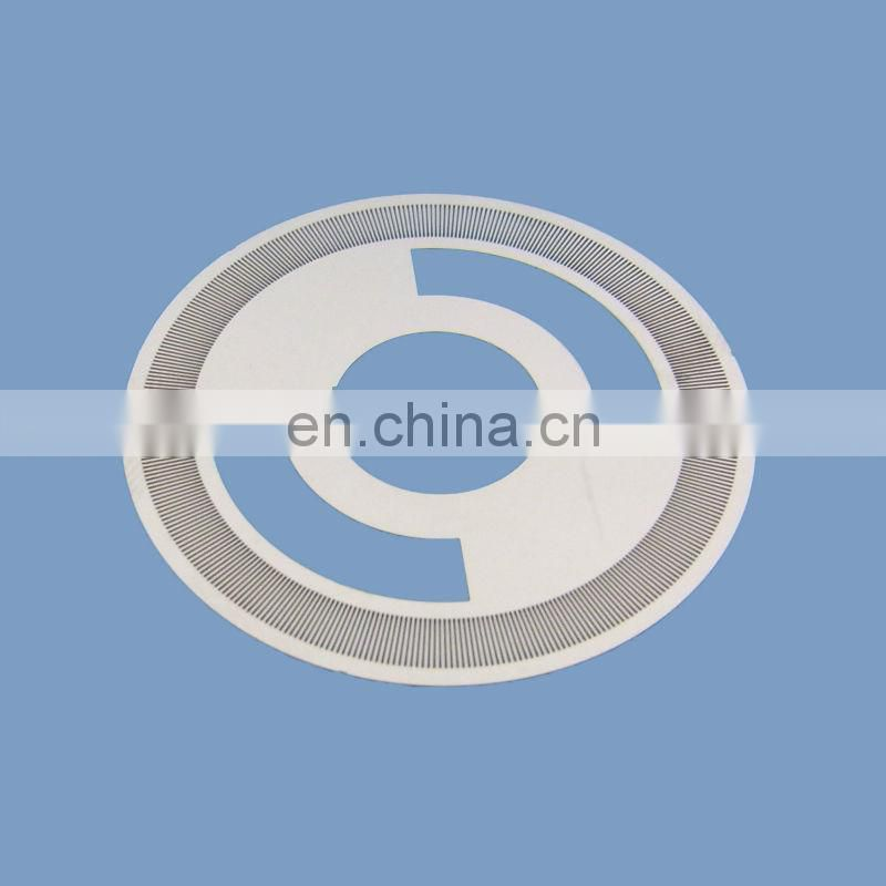 precise Stainless steel encoder disk for sensor with 1396 line