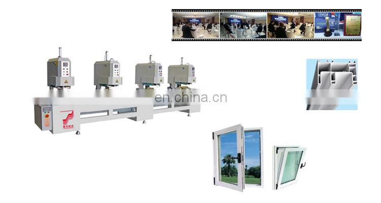Four head seamless welding machine window and door profile cutting bending With Best Price High Quality