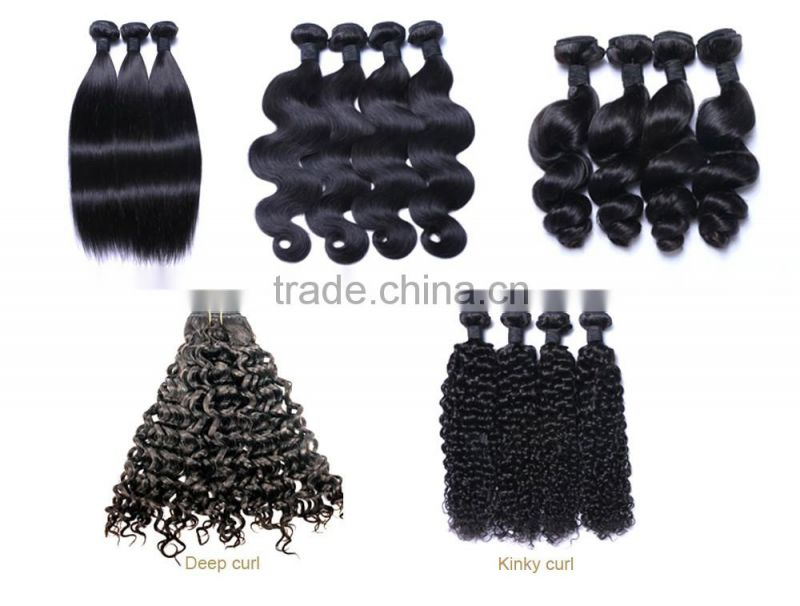 Dark Roots Human Hair Ombre Brazilian Hair Weave Pink Gray And Black