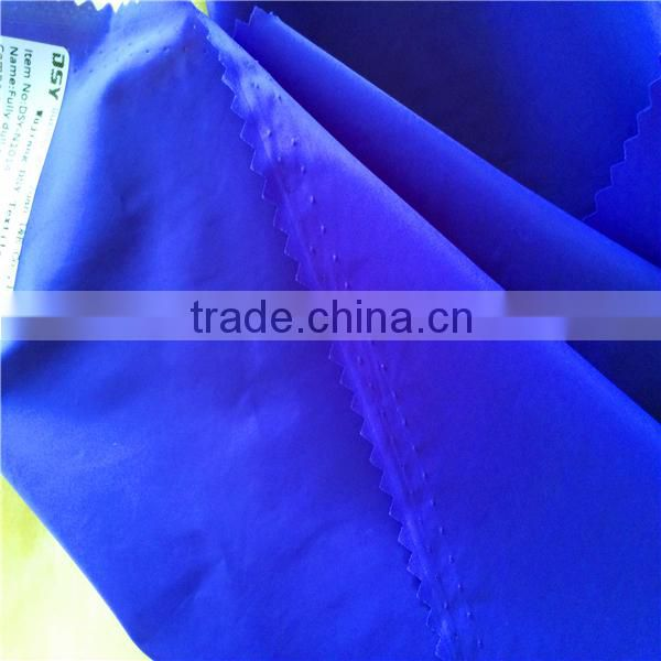 20D 400T textile fabric nylon ripstop taffeta semi dull waterproof