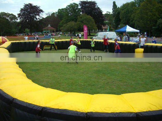 inflatable street sports court for soccer games