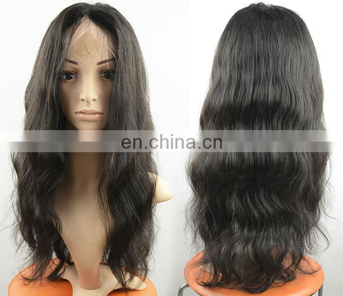 Hot Beauty Human Hair Top Closure Lace Wigs, Lace Front Wigs