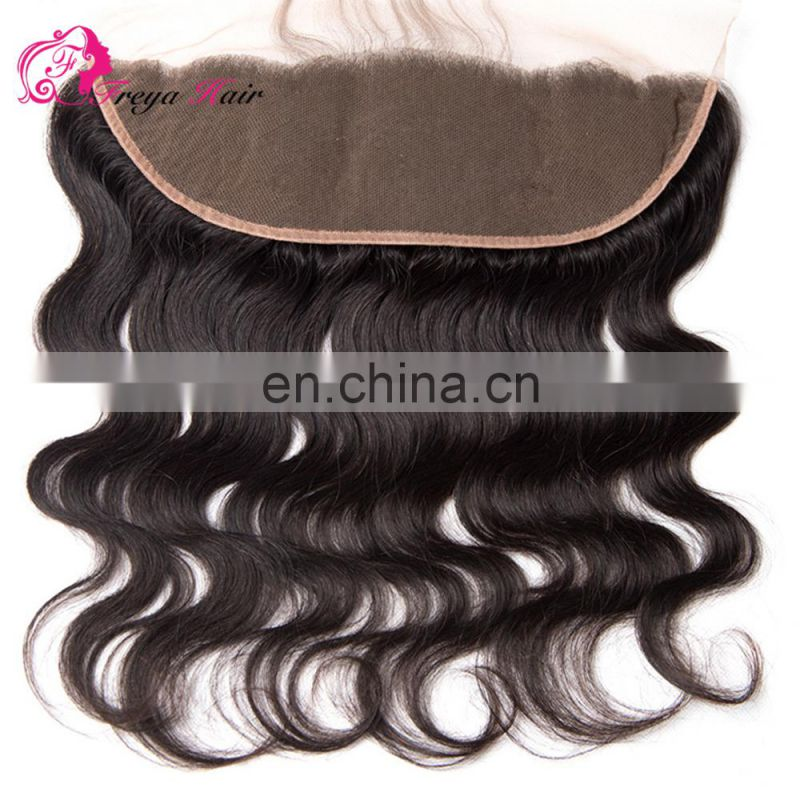 Brazilian hair closure lace frontals with baby hair