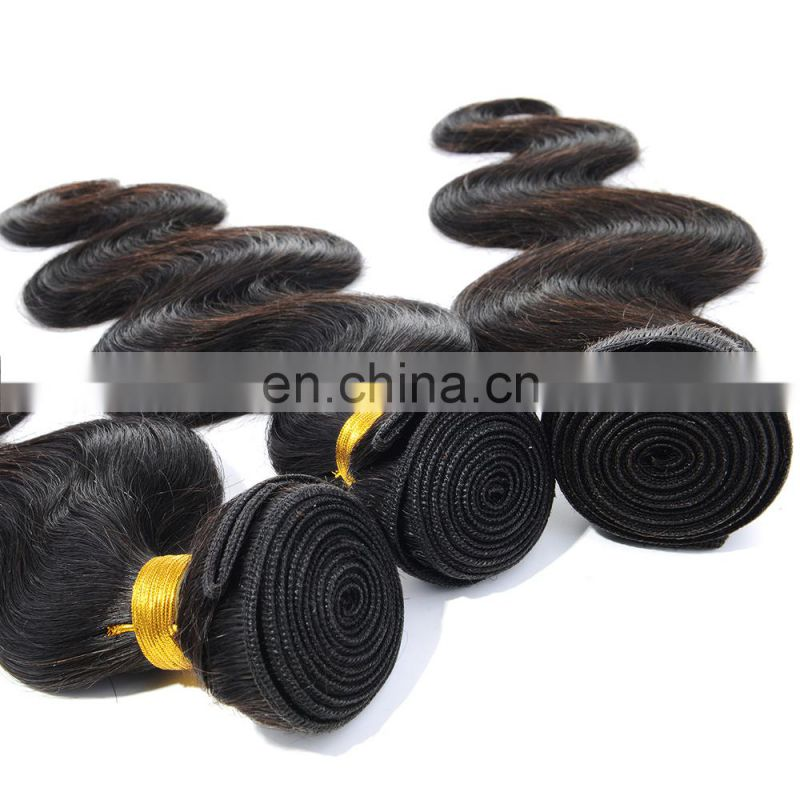 Best quality grade 8A body wave nature black unprocessed hai virgin hair straight remy human hair, cheap virgin indian remy hair