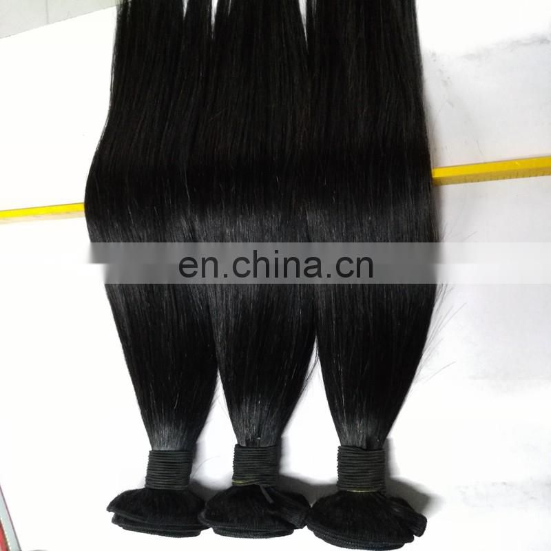 Hot saling natural color human hair weave wholesale top quality human hair extensions