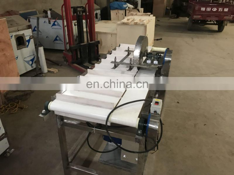 pre-process fish head remover machine / frozen fish fresh fish head cutting machine