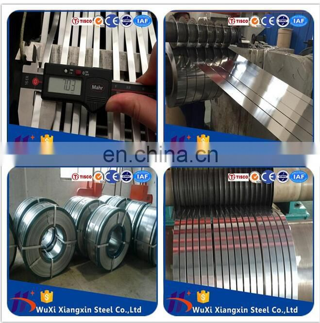 High quality ASTM 304 321 Stainless Steel Strips in Coil