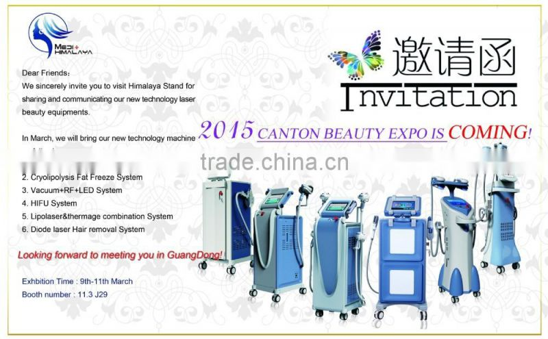 Cavitation + Vacuum + Bipolar RF + 940nm Laser Machine for Fat Loss Vacuum Liposuction Simming Machine