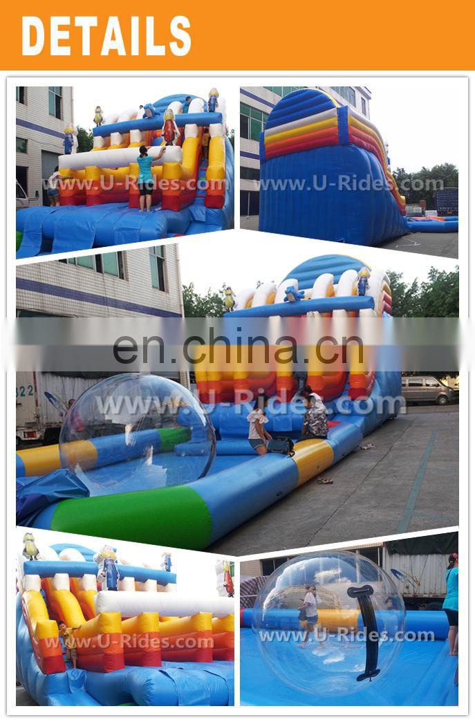 Floating Inflatable Obstacle Course Water Park Party Supplies Construction