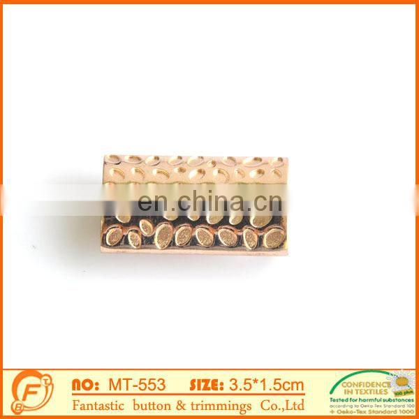2015 metal brass cord tube for jewelry components