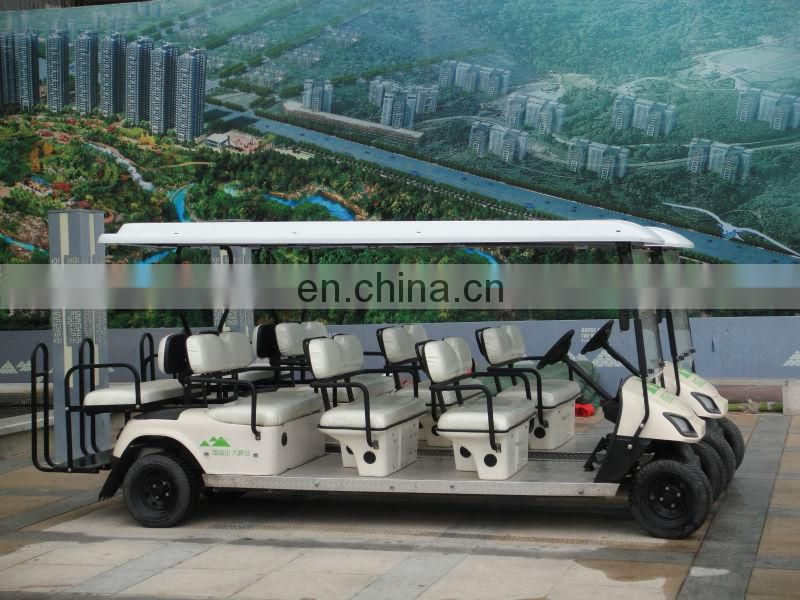 2013 New 8 seater electric golf cart bus for sale (AX-B9+3)