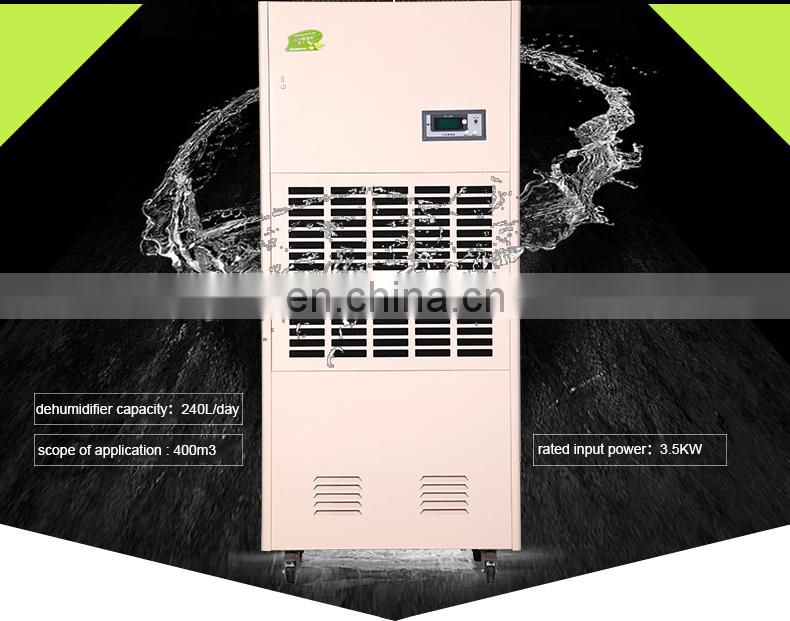 240L/day commercial and industrial  air dehumidifier