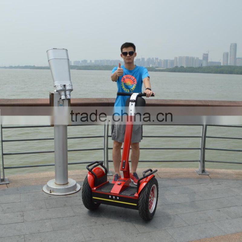 2 wheel self balancing electric chariot i2