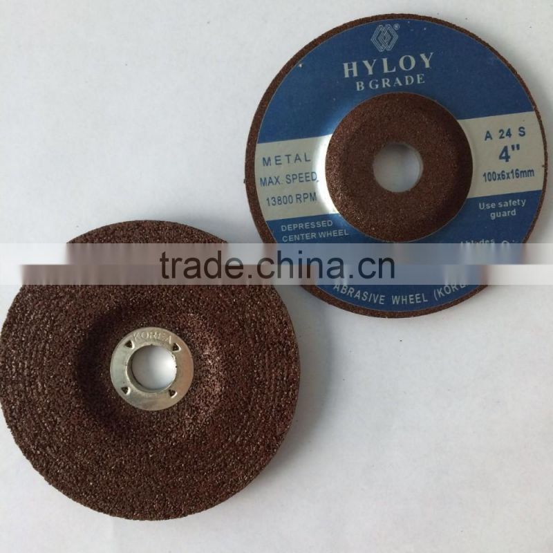 "4"" thin cutting wheel, cutting disc for stainless steel"