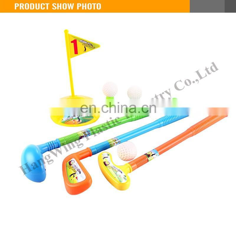 New Style Kids Indoor Sport Mini Plastic Golf Toy