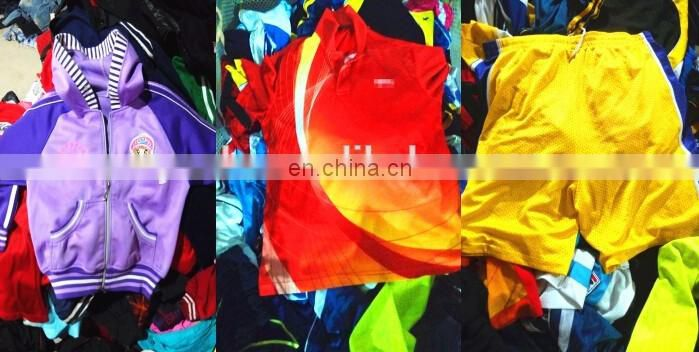 wholesale clothing used men/women work clothes super cream used clothing