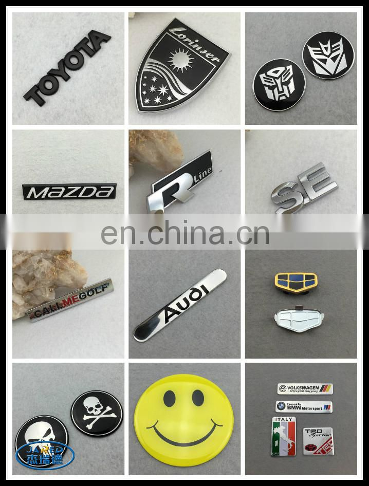 promotion car badge custom brand car emblem