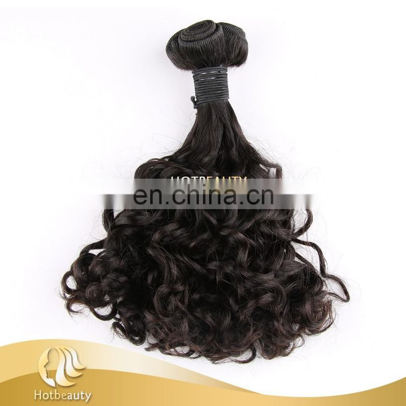 Best Selling High Quality 9a Grade New Funmi Double Drawn Curly Hair