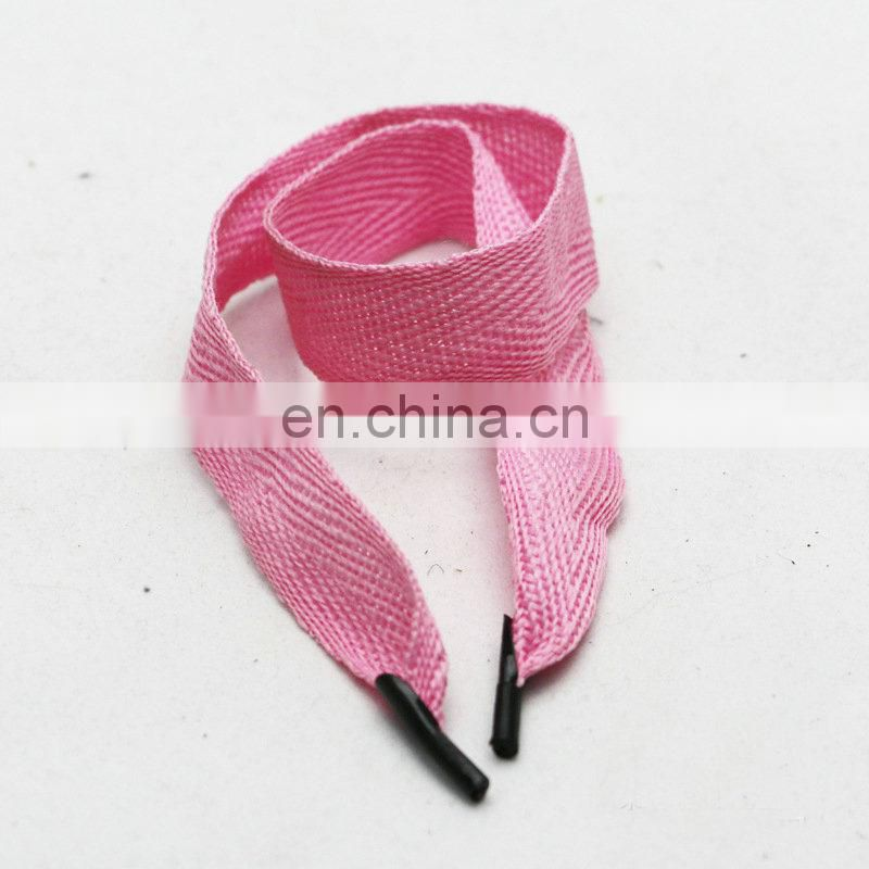 factory supply stock colored 2cm cotton herringbone bag straps
