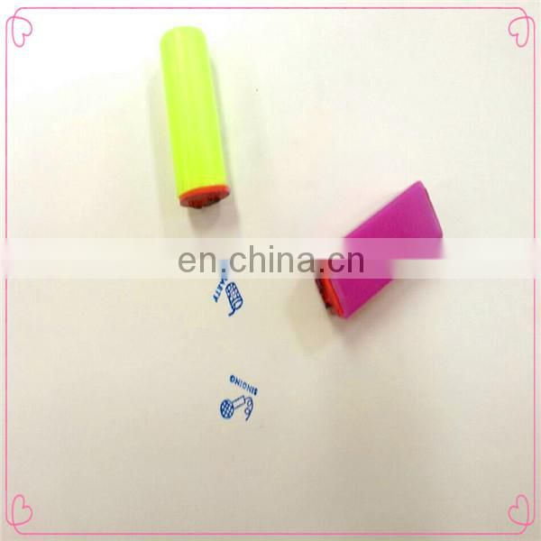 create and cute washable toy ink pad for children